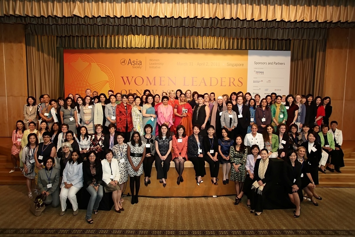 Delegates convene at the 2011 Women Leaders of New Asia conference in Singapore. (Asia Society)