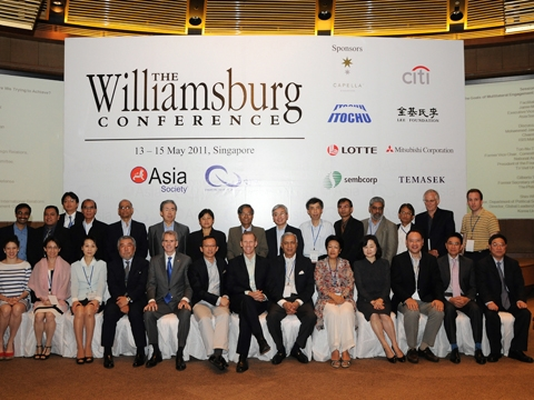 Thought leaders across Asia-Pacific convened at the 39th Williamsburg Conference in Singapore on May 13 to 15, 2011.