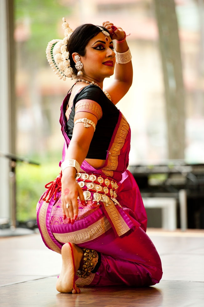 Shipra Mehrotra performs a stunning Northern Indian classical dance (Jeff Fantich).