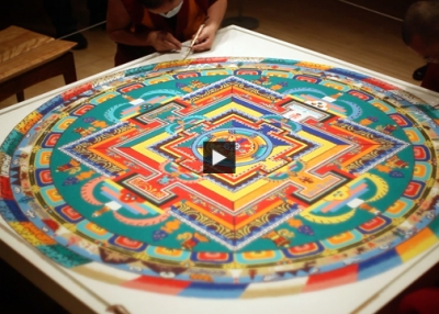 Five Monks, Five Days, One Sand Mandala