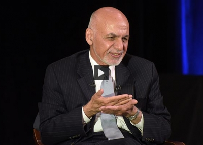 Afghanistan's President Discusses Taliban Advances