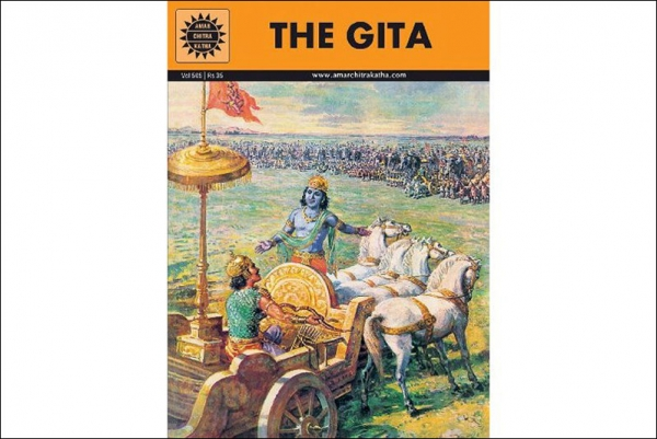 Amar Chitra Katha's adaptation of the Bhagavad Gita is one of its perennial best-sellers.