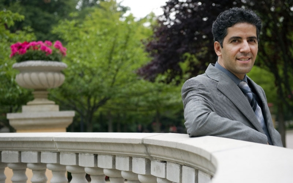 Dr. Kamiar Alaei poses at the Omni Shoreham hotel in Washington, D.C., June 16, 2011. (Jim Watson/AFP/Getty Images)