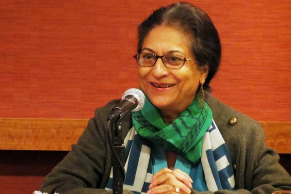 Asma Jahangir, recipient of the UNA-USA Human Rights Award, in New York City on Nov. 9, 2011. (Joseph Catapano/UNA-USA)
