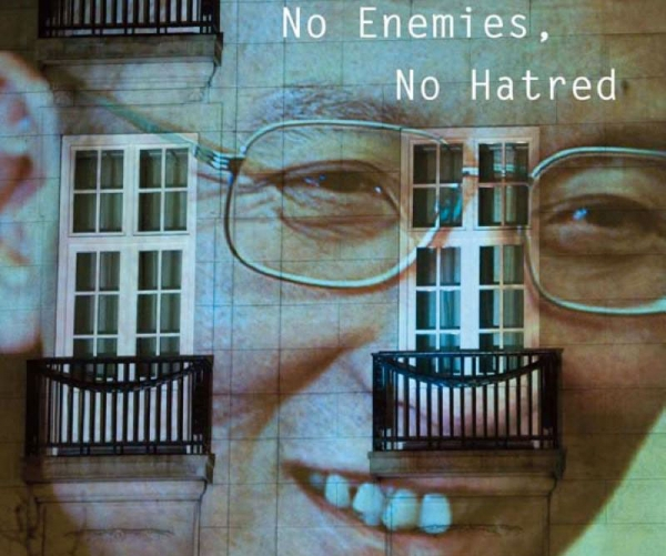 A portion of the cover of Liu Xiaobo's new book 'No Enemies, No Hatred.'
