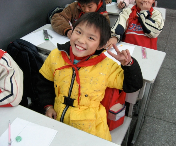 Students in Shanghai have seen vast improvements in their education system. (Flickr/Kyle Taylor)