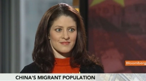 Asia Society Associate Fellow Alexandra Harney on Bloomberg News earlier today.