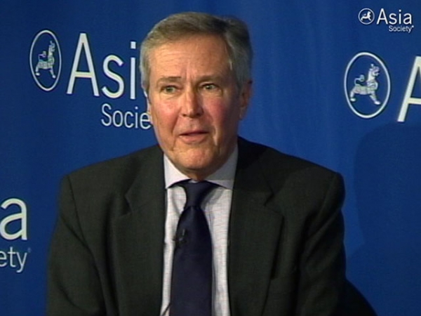 James Fallows speaking at Asia Society New York on May 22, 2012.