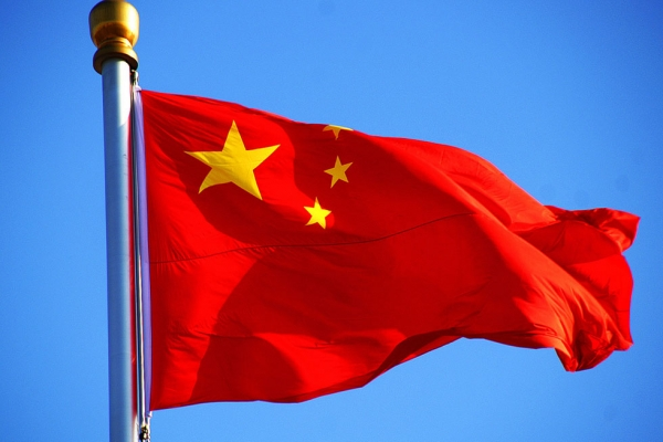 The Chinese flag. (Flickr/Peter Fuchs)