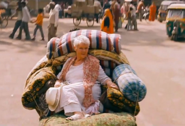 Judi Dench in 'The Best Exotic Marigold Hotel.'