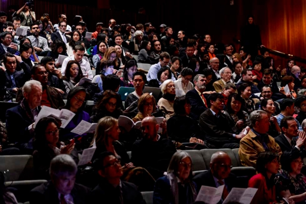 A sold-out audience attended the event at Asia Society New York on March 4, 2013. (C. Bay Milin/Asia Society)