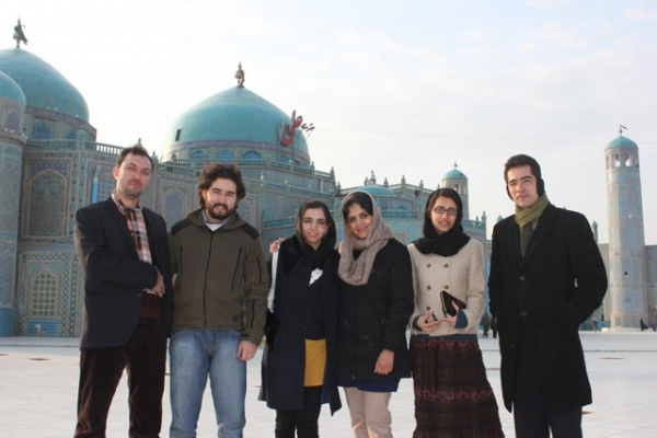 Members of Asia Society's Afghanistan's Young Leaders Initiative.
