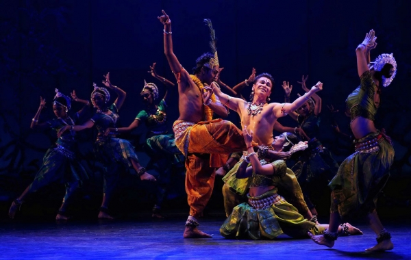 "Malaysia's Sutra Dance Theater presents ""Krishna: Love Re-Invented"" at Asia Society New York on Nov. 6 and 7, 2014. (Sutra Dance Theater)"