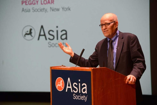 New York City Department of Cultural Affairs Commissioner Tom Finkelpearl at Asia Society New York on January 29, 2014. (Elsa Ruiz/Asia Society)
