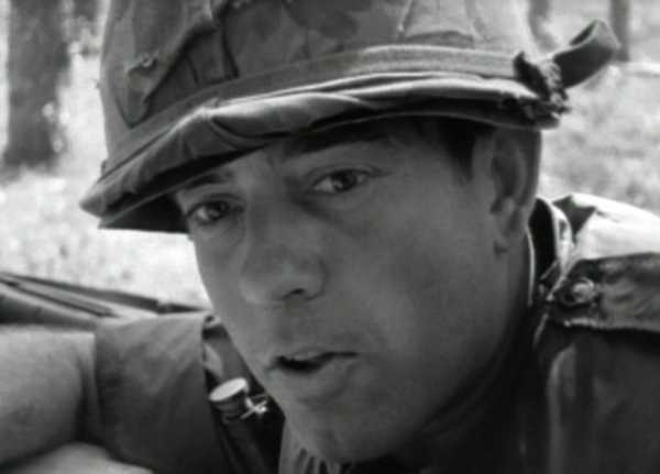 Dan Rather, war correspondent. (danrather.com)