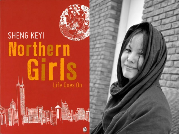 "L:  ""Northern Girls"" by Sheng Keyi (Penguin Group Australia, 2012). R: The author (Feng Tang)."