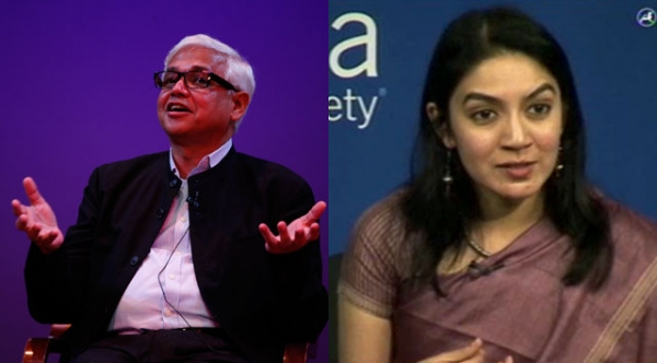 Novelists Amitav Ghosh (L) and Tahmima Anam (R), shown here in their Fall 2011 appearances at Asia Society New York, are two of the writers short-listed for this year's DSC Prize for South Asian Literature.