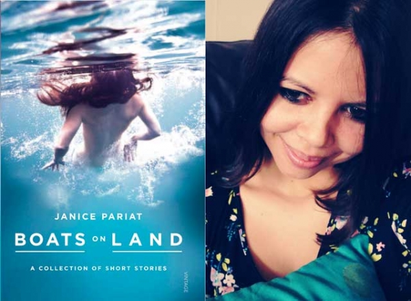 """Boats on Land"" (Random House India, 2012), the debut short story collection by Janice Pariat (R)."