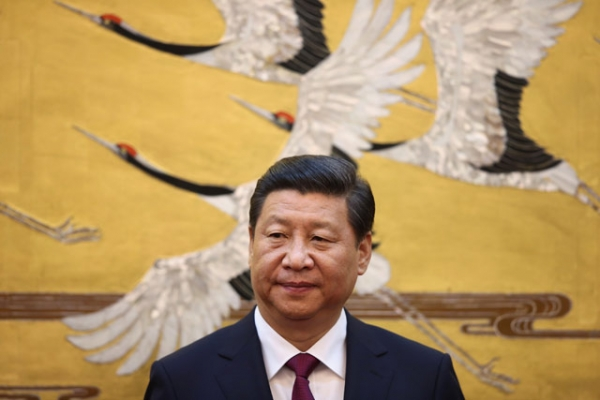 Chinese President Xi Jinping at the Great Hall of People earlier this year in Beijing, China. (Feng Li/Getty Images)
