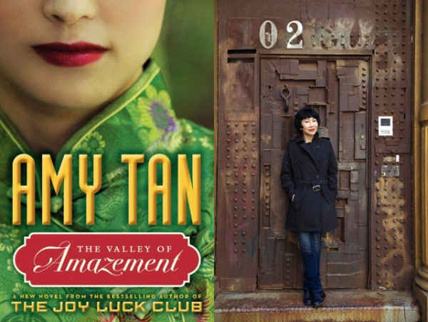 """The Valley of Amazement"" (Ecco/HarperCollins, 2013) by Amy Tan (R). (Rick Smolan/Against All Odds Productions)"