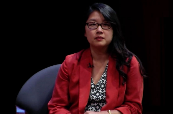 Mother Jones interactive producer Jaeah Lee at Asia Society New York on June 11, 2014.
