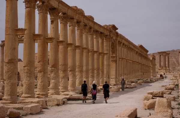 The ruins of Palmyra, Syria, are now under occupation from the Islamic State. (Michal Unolt/Flickr)