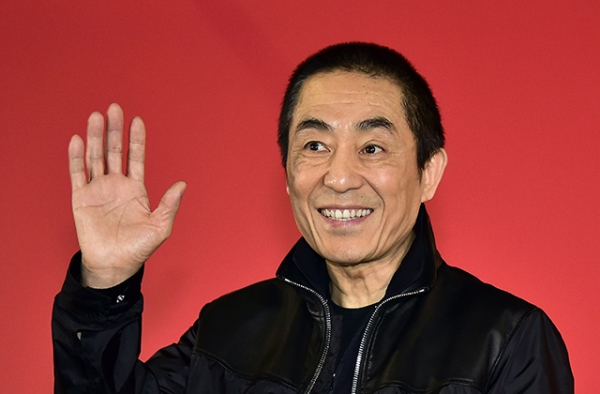 Chinese director Zhang Yimou poses after a press conference on the film 'Coming Home' at the 19th Busan International Film Festival (BIFF) in Busan, South Korea, on October 4, 2014. (Jung Yeon-je/AFP/Getty Images)