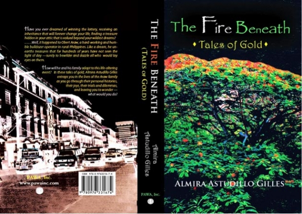 "Almira Astudio Gilles will appear at Asia Society on December 7 to discuss her book ""The Fire Beneath: Tales of Philippine Gold."""