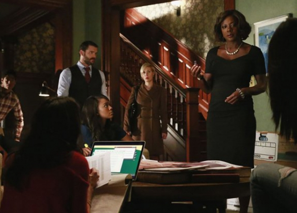 Shows like ABC's How To Get Away With Murder have injected greater racial diversity in television (Mitchell Haaseth/ABC)