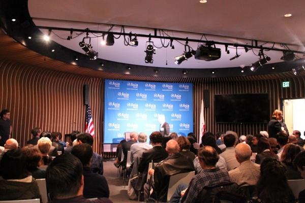 The room was packed to the brim! (Asia Society)