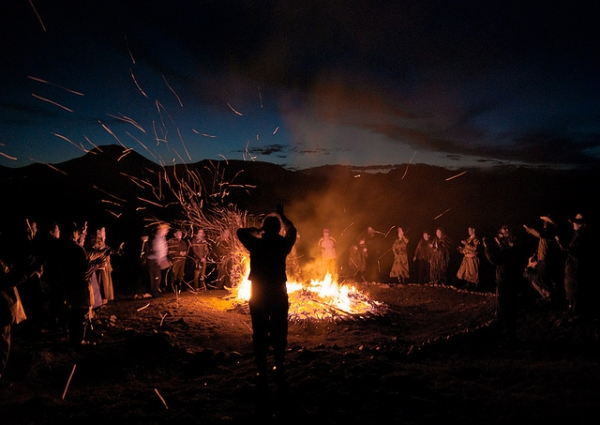 A tribal dance in the Govi-Altai province in Mongolia on July 17, 2012. (Karthik Anand/Flickr)