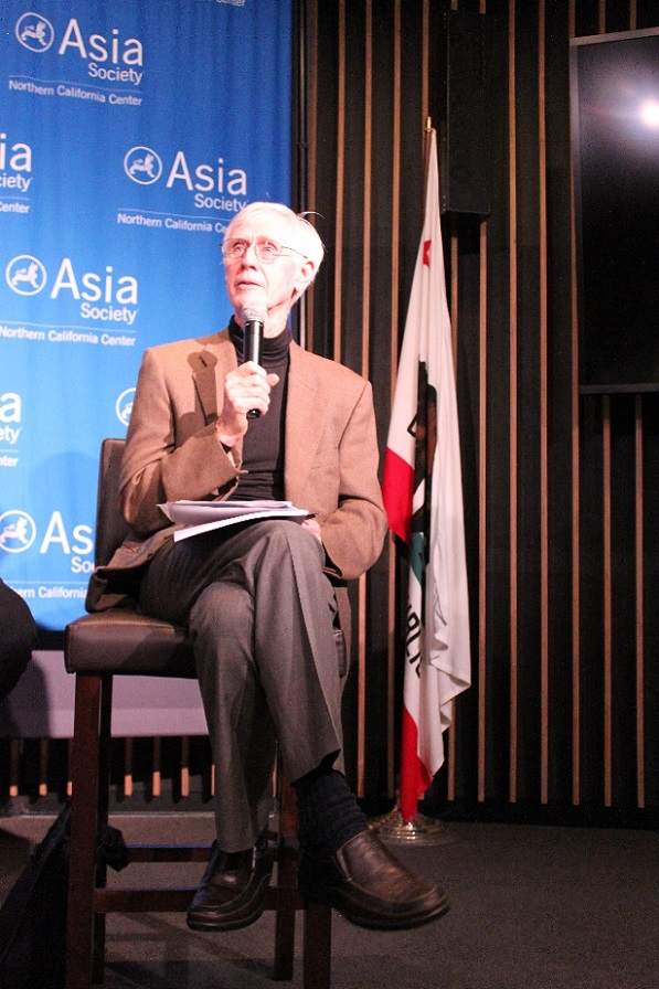 Orville Schell, Arthur Ross Director for the Center on U.S.-China Relations at Asia Society, offered insight about the federal level. (Asia Society)