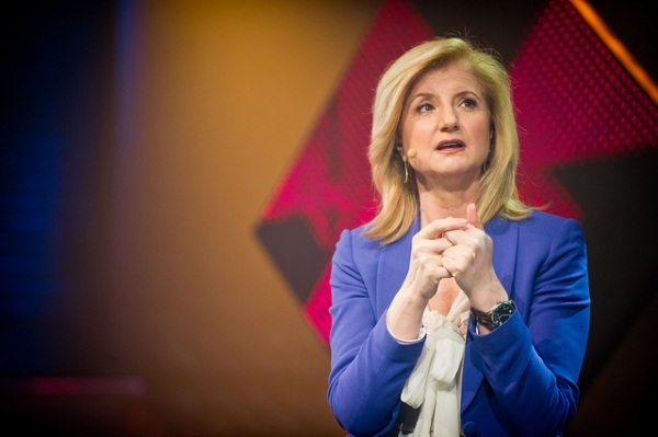 Arianna Huffington speaks at the 2014 Commerce & Creativity Conference in Montreal. (Charles William Pelletier/Flickr).