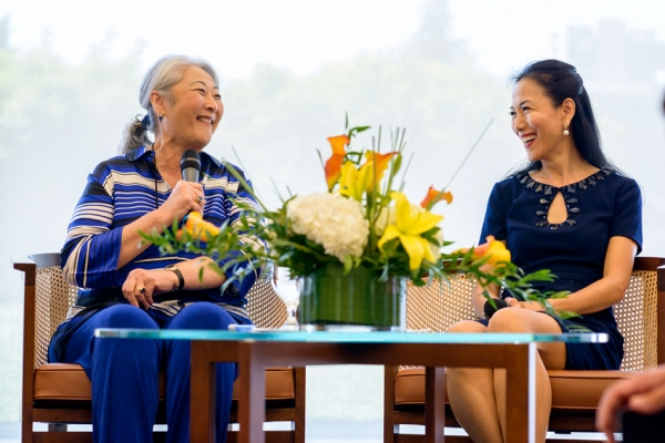 Donna Cole and Y. Ping Sun (Jeff Fantich)