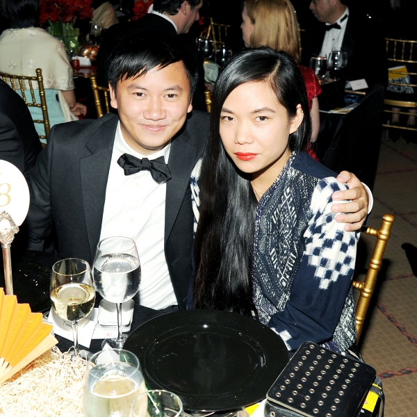 Tommy Ton and Sarah Chavez. (Billy Farrell)