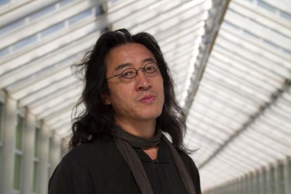 Exiled Chinese poet Bei Ling at the 2011 Frankfurt Book Fair. (Ekko)