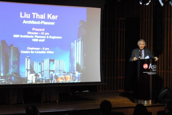 Thai Ker Liu of RSP Architects and Engineers delivered a keynote address at the Forum.