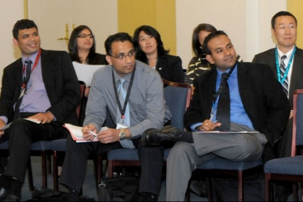 Participants at the 2010 Asia Society Diversity Leadership Forum.