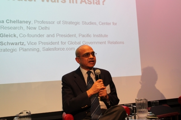 "Chellaney's newest book is ""Water, Peace, and War: Confronting the Global Water Crisis."" (Asia Society)"