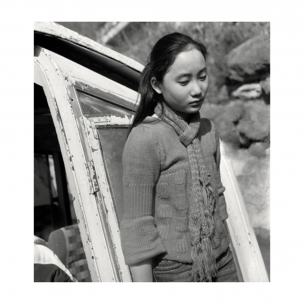 "Muge, Untitled #41, from the series ""Go Home"" (2006), Gelatin silver print. Courtesy of the artist and Anastasia Photo."