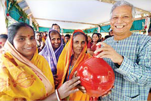Bangladesh's central bank fired Nobel Prize winner Muhammad Yunus on Wednesday, Mar. 2, 2011.