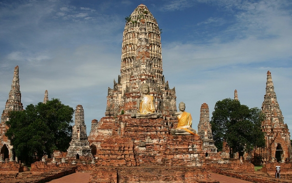 "1. Ayutthaya, Thailand —  The ""Venice of the East"" and former Siamese capital. Under threat due to natural disasters/flooding and insufficient management. (Jim Trodel/Flickr)"