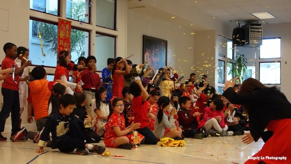 Lunar New Year Performance. (Kingsly Lu Photography)