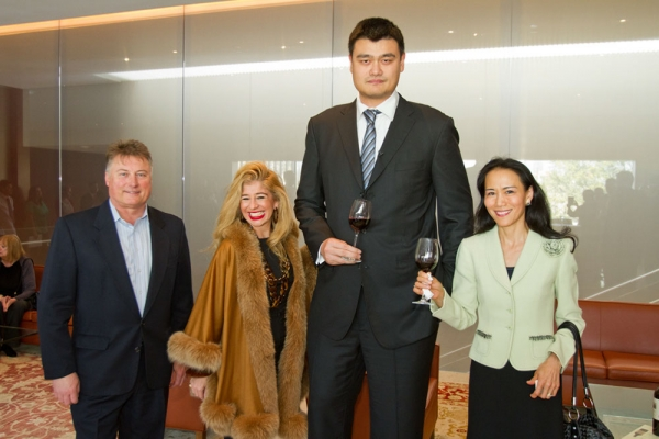 Tom Hinde, Sofia Adrogué, Yao Ming, and Y. Ping Sun. (Richard Carson)