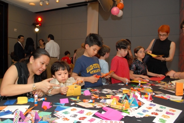 Dragons and more: creating zodiac animal theater books. (Elsa Ruiz/Asia Society)