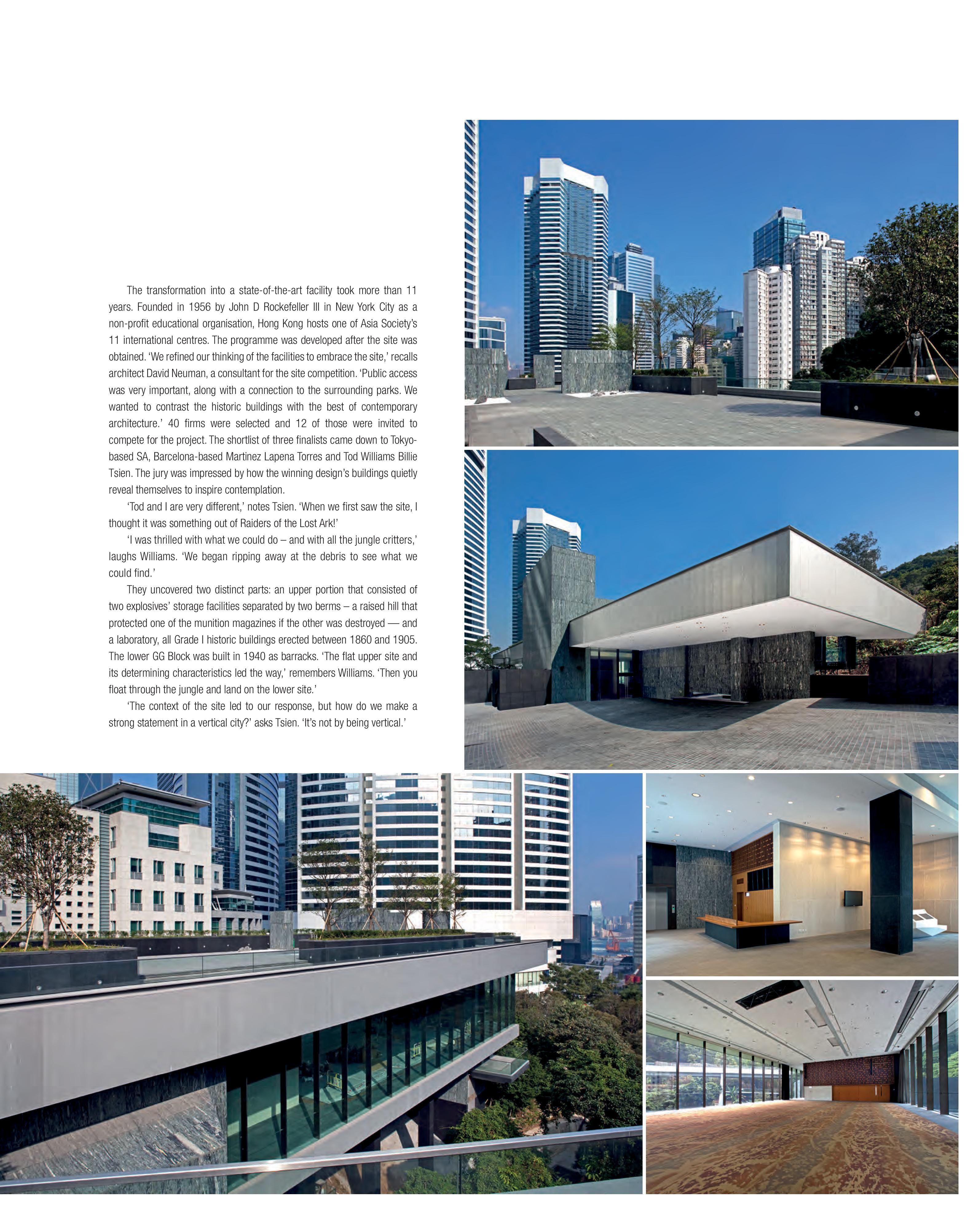 Design+Architecture Magazine Extensive Coverage on ASHK | Asia Society
