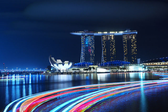 Photo of the Day: A Rush of Traffic in Singapore | Asia Society