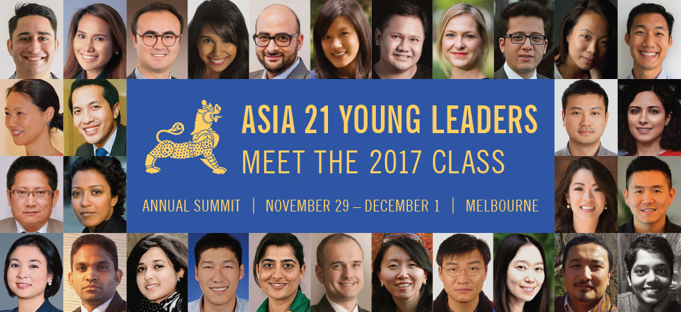 Asia 21 Class of 2017