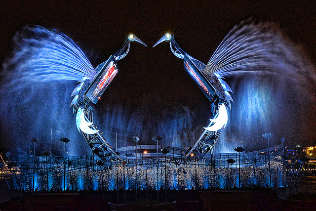 Photo Of The Day Crane Dance In Singapore