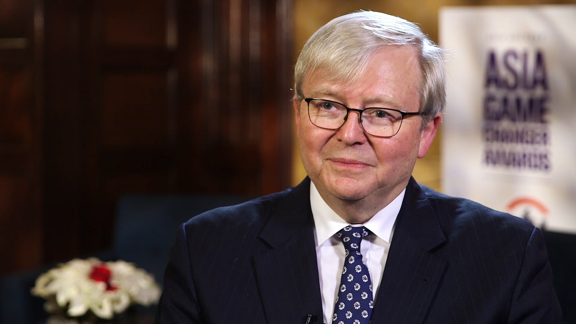 Kevin Rudd Asia Game Changer Awards Promote Politics Of Hope Asia Society